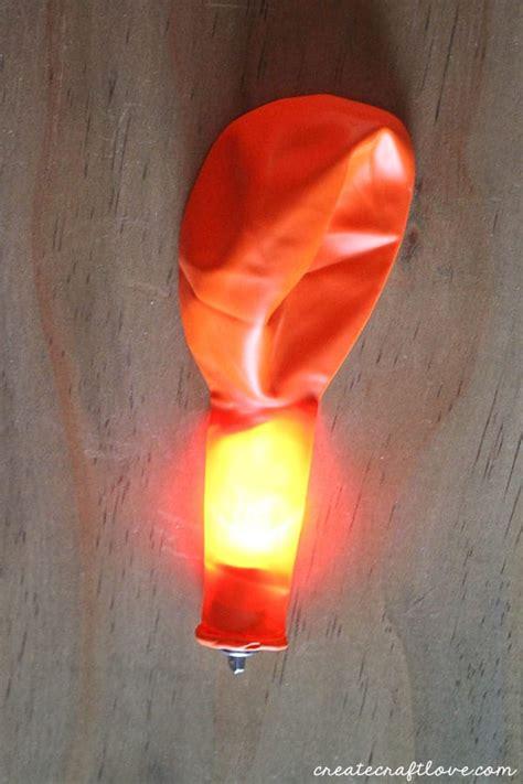 helium balloons with lights inside glow in the dark pumpkin balloons create craft love