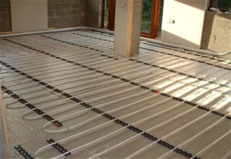 Water Underfloor Heating