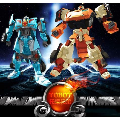Murah Tobot X Transformer coolplay 8pcsset tobot mini series transforming robot 8 in