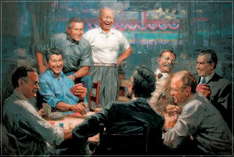 printable poster of u s presidents republican presidents playing poker the blog chooses the