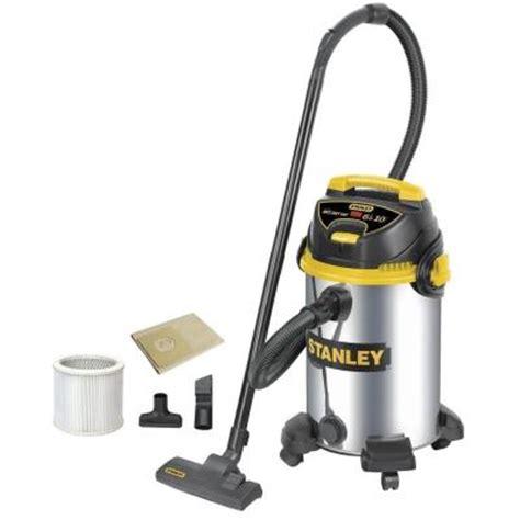 stanley 10 gal stainless steel vacuum