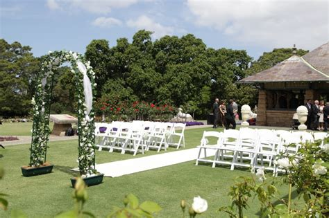 garden wedding ceremony and reception sydney garden royal botanic gardens sydney prepared for a
