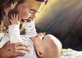 imagenes de jesus cargando un bebe nacimiento 9