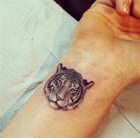 Small Tattoo Tiger Tattoos Pinterest Small Small Tiger Tattoos For