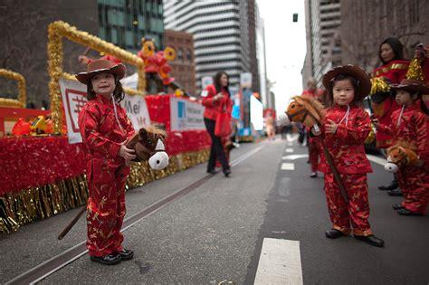 2014 new year parade san francisco san francisco rings in the year of the at the