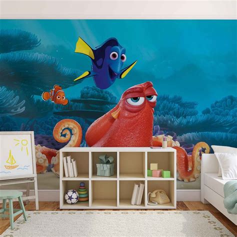 nemo wall mural disney finding nemo dory wall paper mural buy at europosters