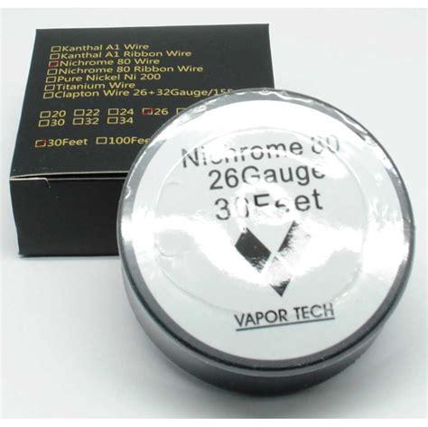 Vape Nichrome Awg 26 30 Authentic Ni80 Wire Kawat 10m vaportech authentic nichrome 80 wire coil vape 30