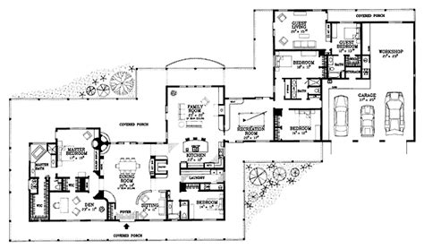 house plans with attached guest house house plan 95254 at familyhomeplans