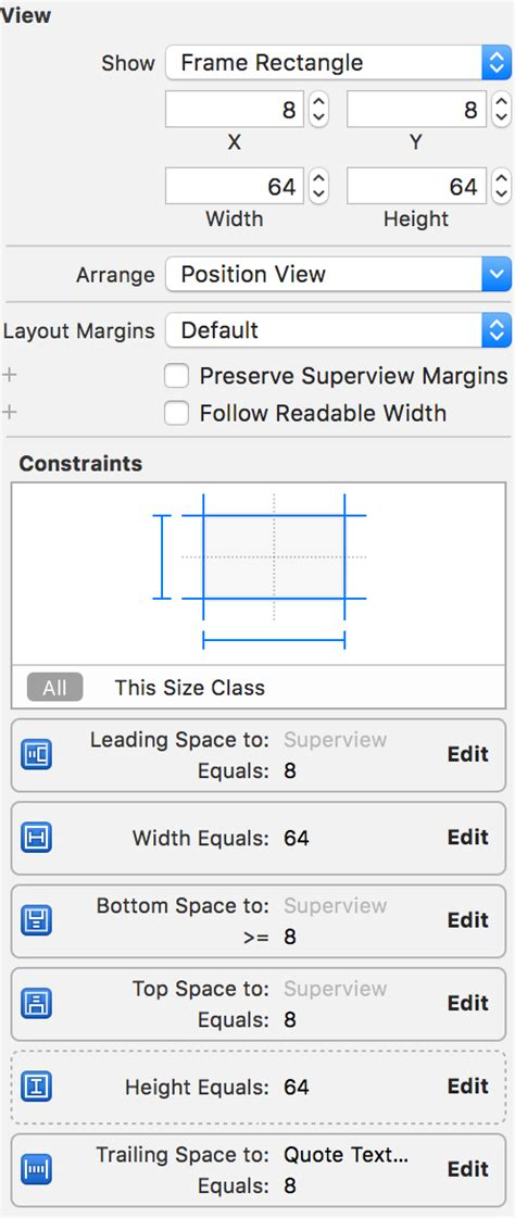 uiview encapsulated layout height self sizing cells with uitableview and auto layout
