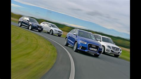 Audi X3 by Bmw X3 Vs Audi Rs Q3 Vs Mercedes Glk Vs Volvo Xc60
