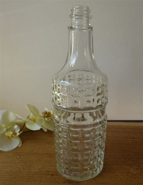 vintage glass bottle decoration a1 la boutique vintage