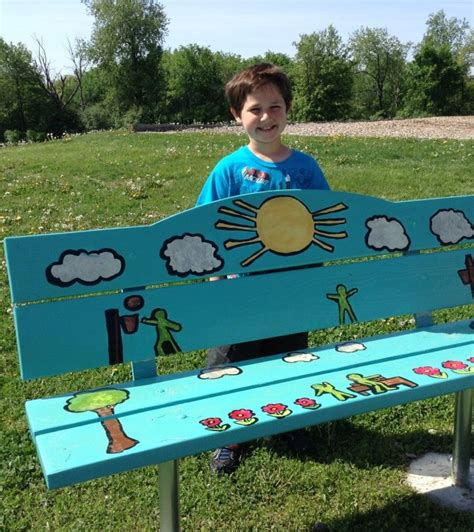 buddy bench story hugger elementary school christian s buddy