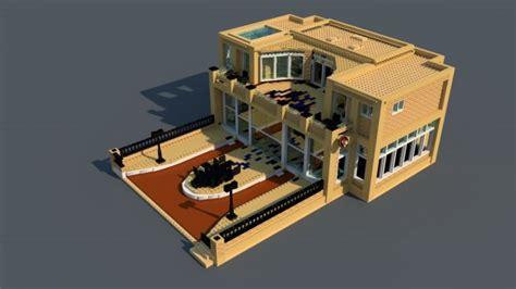 tutorial lego house lego house 3d model c4d