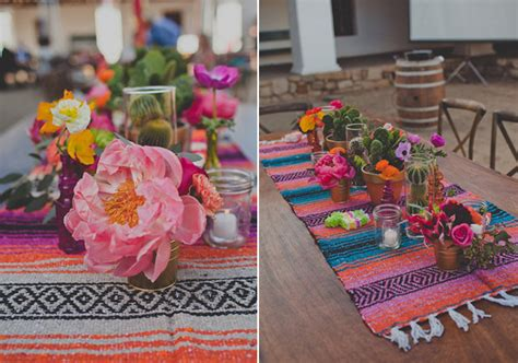 santa barbara mexican inspired wedding