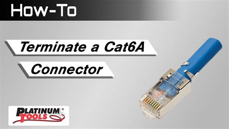how to terminate cat6a shielded rj45 wiring diagrams