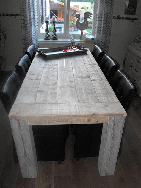 Steigerhout Tafel Maken Tips by Zelf Eettafel Maken Gebruik Deze Bouwtekening Klik Hier