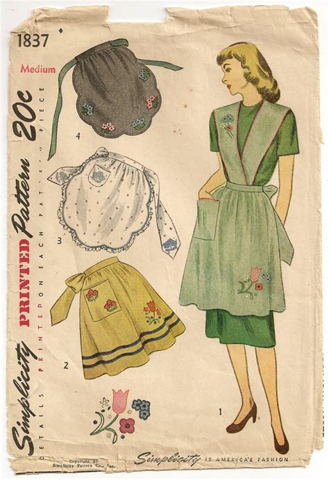 sewing vintage apron 17 best images about aprons on pinterest sewing patterns