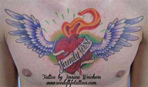 tattooed heart jessica untitled by jessica weichers tattoos