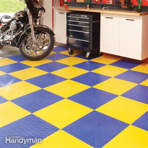 Concrete Garage Floor Covering by Garage Flooring Options The Family Handyman