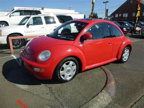 2000 volkswagen beetle for sale 2000 volkswagen new beetle for sale in tacoma wa