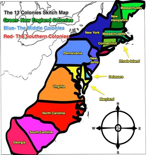 thirteen colonies map 13 colonies map original 13 colonies blank map social studies originals maps