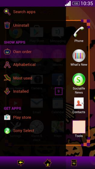 hello kitty themes for xperia c new premium halloween xperia themes released scary