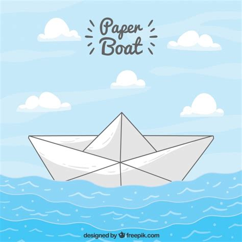 sailing boat background paper boat sailing background vector free download