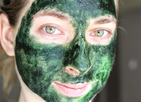 Masker Green Mask Spirulina easy diy spirulina mask for problem skin natalie