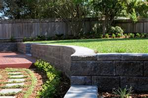landscaping a sloped backyard landscaping ideas for downward sloping backyard