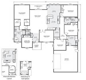 Rambler Floor Plan by Jasper Park True Built Home