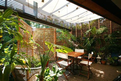 terrazzi con piante con le piante tropicali tramuti giardino o terrazzo in una