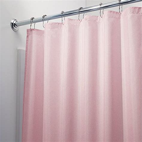 pink mold on shower curtain mildew free waterproof vinyl pink shower curtain liner
