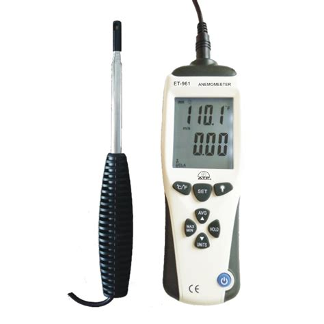 Thermo Anemometer wire thermo anemometer airflow measuring parrs