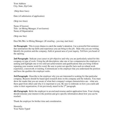 proper resume cover letter proper cover letter of resume letter format writing