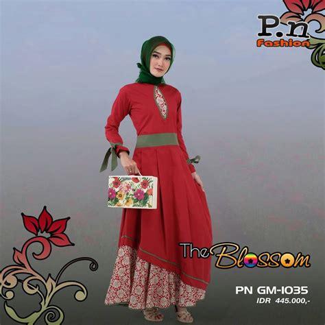 Gamis Pn Fashion Gm 1031 butik pn fashion pn fashion gm 1035 rp 445 000
