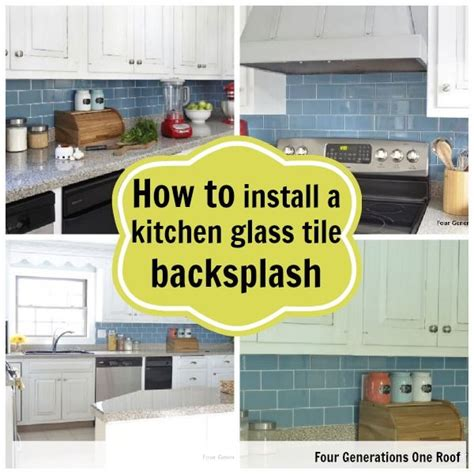 how to lay out a kitchen how to install a backsplash tutorial glass backsplash