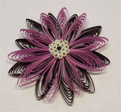 Handmade Ornament Patterns - handmade 3d quilling or quilled flower ornament package