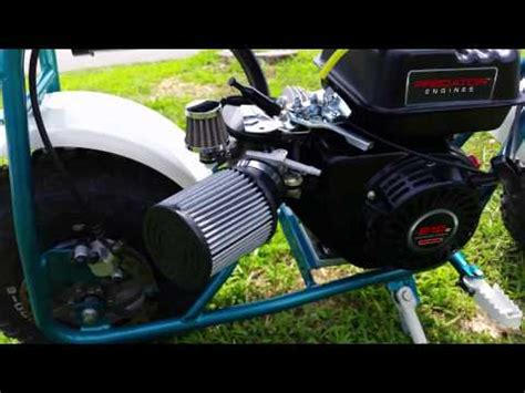 doodlebug mini bike modifications predator 212 with stage 1 upgrades doovi