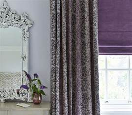 Wohnzimmer Lila Grau by 35 Barock Gardinen Und Vorh 228 Nge Mit Edlen Mustern