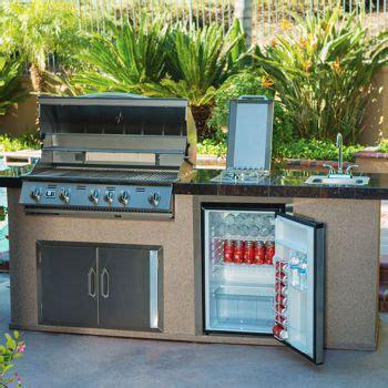 urban islands 5 burner outdoor kitchen island by bull urban islands bbq island 5 burner grill with red granite