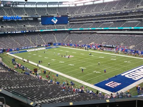 section 245a section 245a 28 images metlife stadium section 246a