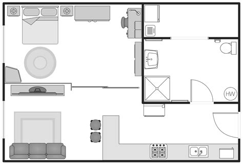 design a floor plan basic floor plans solution conceptdraw