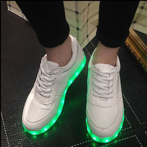 light up dog shoes unisex light sneakers colors lights