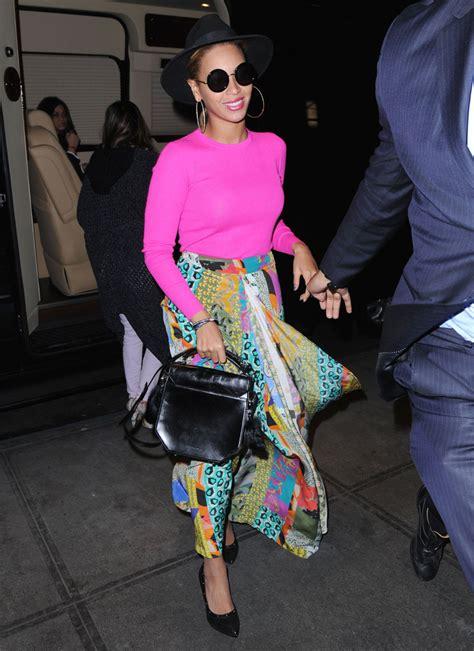 Get Beyonces Bag by Beyonce Knowles Leather Tote Beyonce Knowles Looks