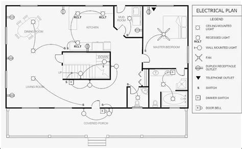delightful Best Free Blueprint Software #3: house_electrical_plan600.png