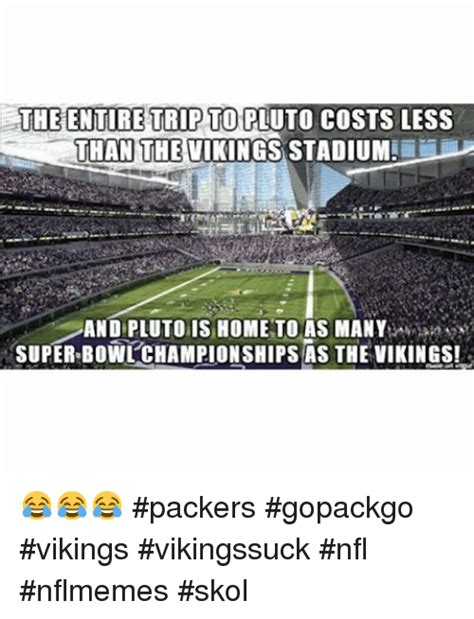 Vikings Suck Meme - 257 funny packers memes of 2016 on sizzle sports