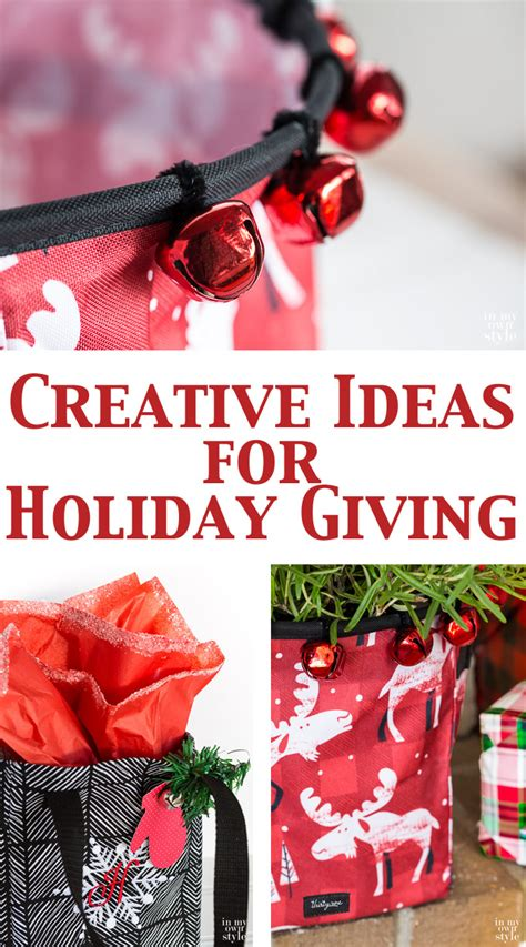 themes for christmas giving creative holiday giving ideas in my own style