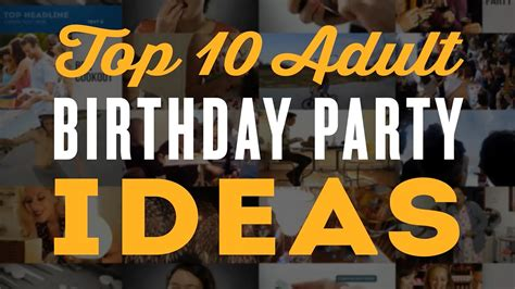 find top ten 30th birthday gift ideas for him birthday themes for him