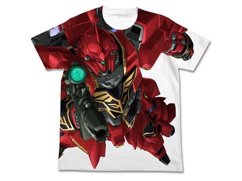 T Shirt Gundam Mobile Suit 7 mobile suit gundam uc sinanju graphic t shirt white