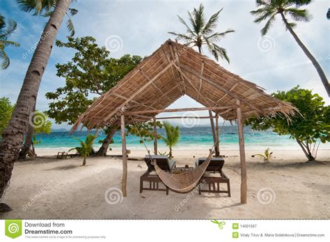 Tropical Hut Tropical Hut Royalty Free Stock Photography Image 14001567